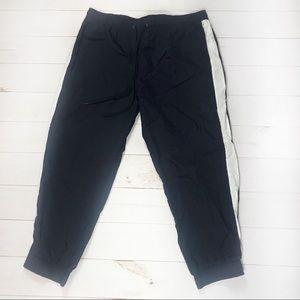 Wild Fable XXL navy/white stripe track pants